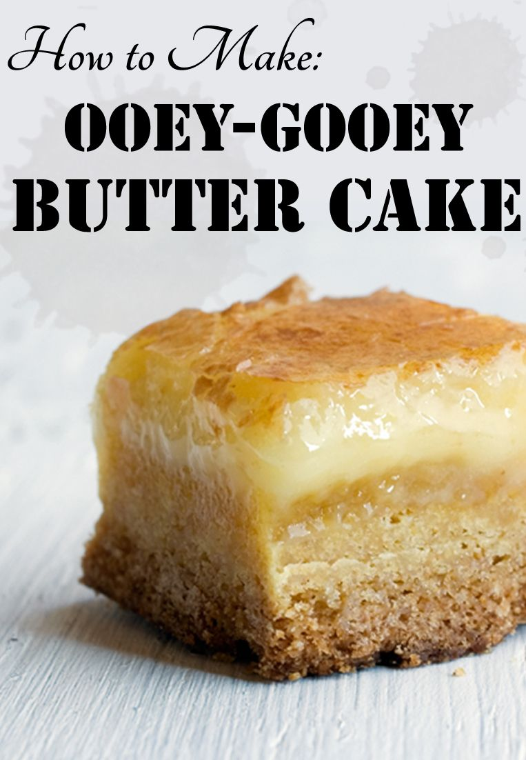 Gooey Butter Cake Recipe & Variations