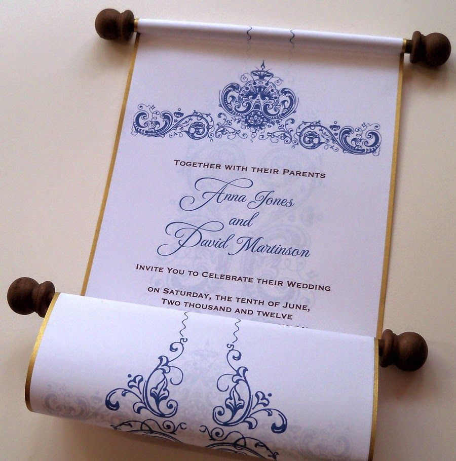 cinderellthemed wedding scroll invitations%0A Find this Pin and more on Cinderella Wedding Theme  Wedding invitation  scroll