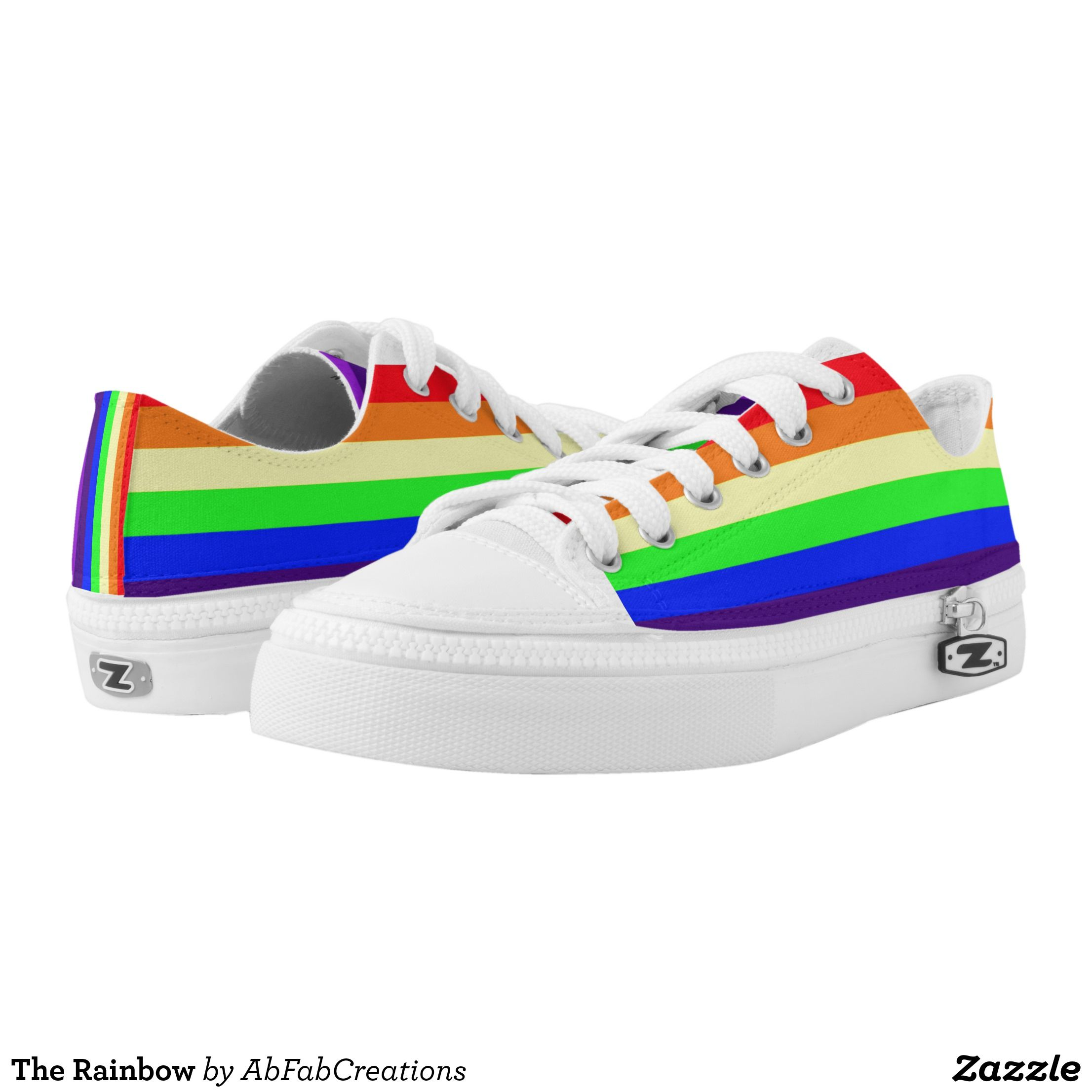 2b30dfcd5186 The Rainbow Low-Top Sneakers - Canvas-Top Rubber-S… | MEN'S SNEAKERS ...