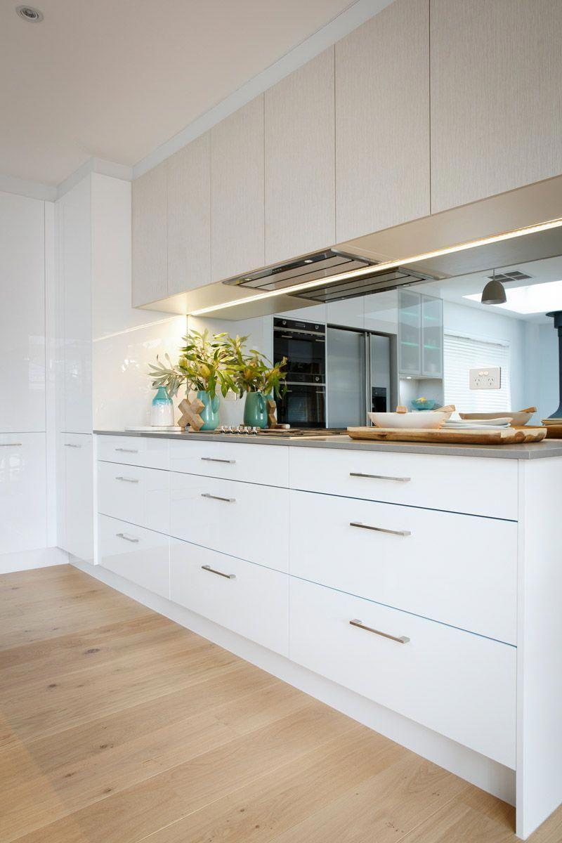#kitchencupboards in 2020   Kitchen splashback designs ...