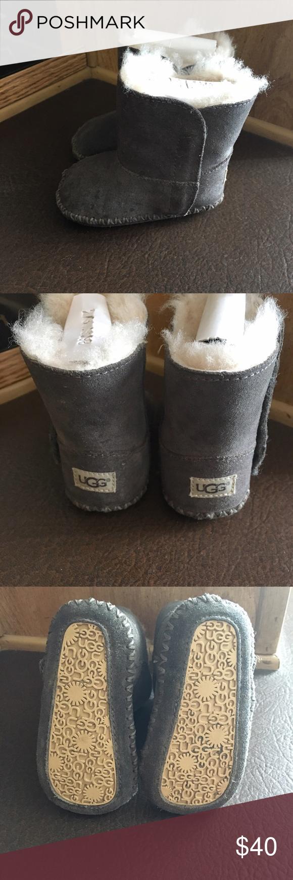 36e3e2f2e33 Infant grey uggs - Caden style Size 2/3 UGG Shoes Boots | My Posh ...