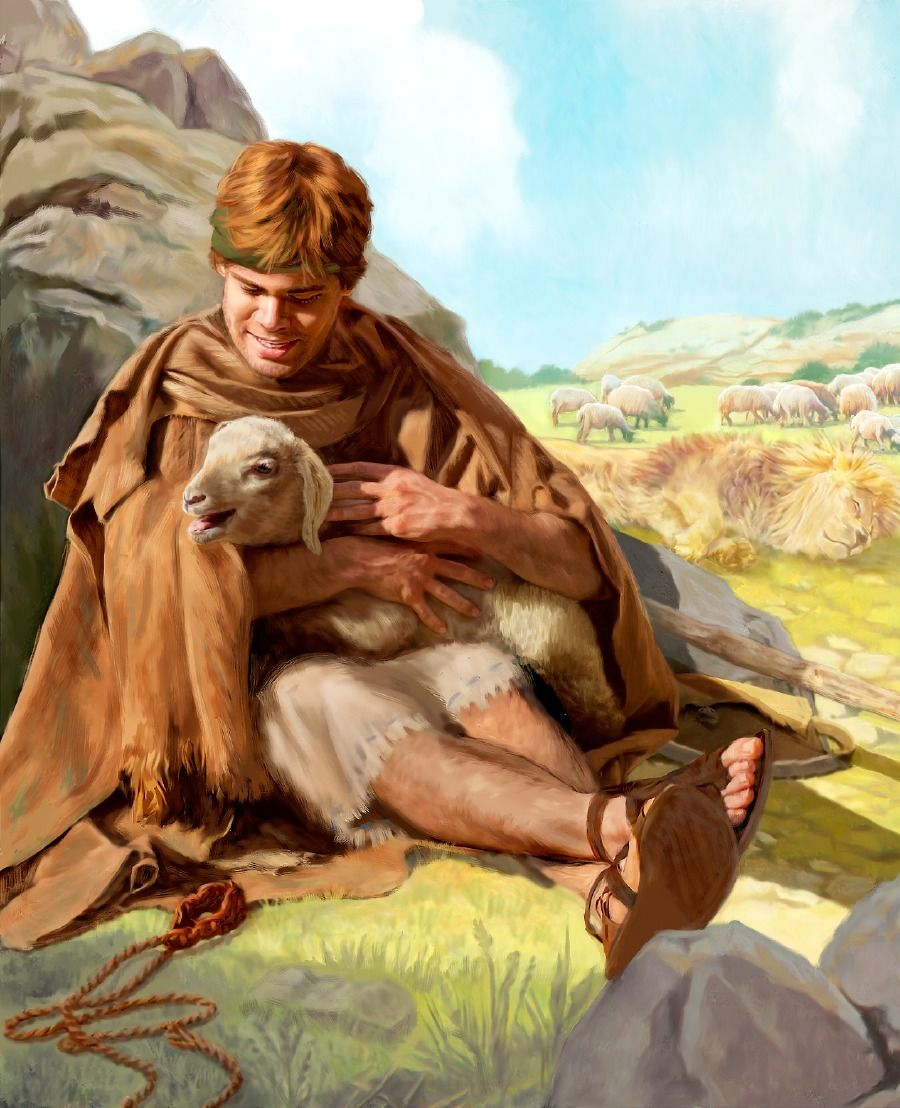 David and Goliath—The Battle Belongs to God | Pinterest | Oveja ...
