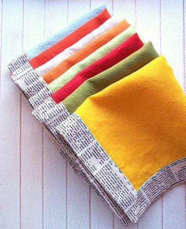 Cute napkins fm Huffington Post Home