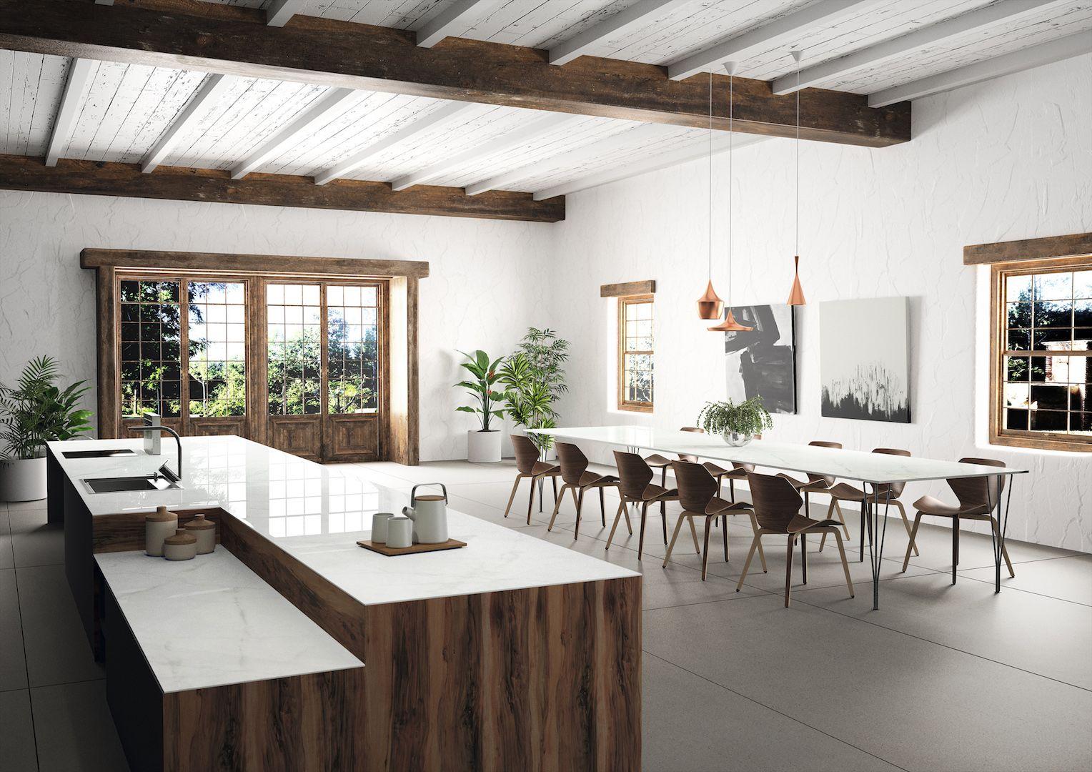 Keukenblad dekton xgloss tundra keuken werkbladen gespot door