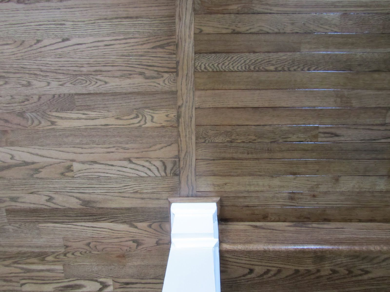 Two Tone Hardwood Floor Ideas Another Kind Of Wood Floor Transition Which Is Closer To