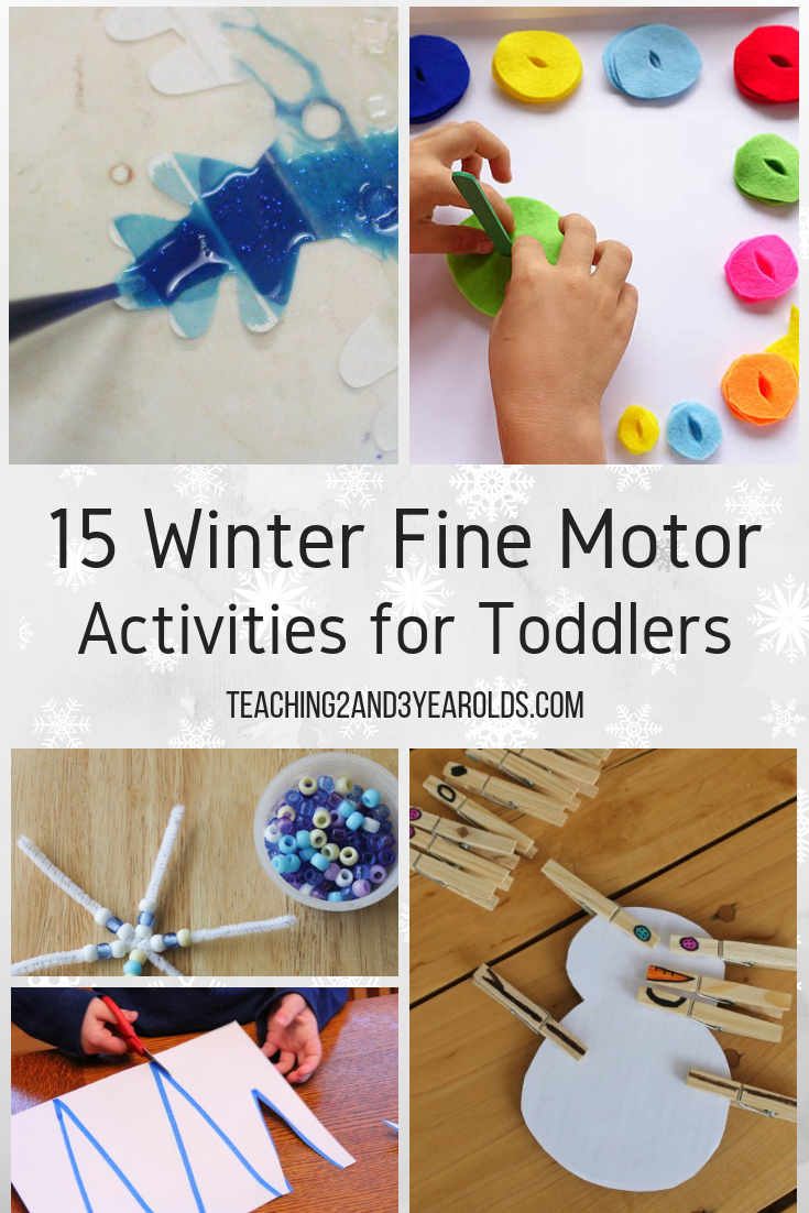 15 Winter Fine Motor Activities For Toddlers Motor Activities