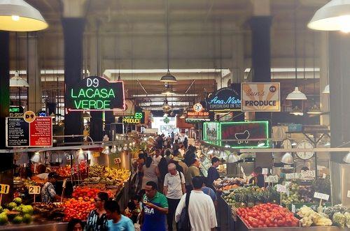 Grand Central Market Food Hall Los Angeles