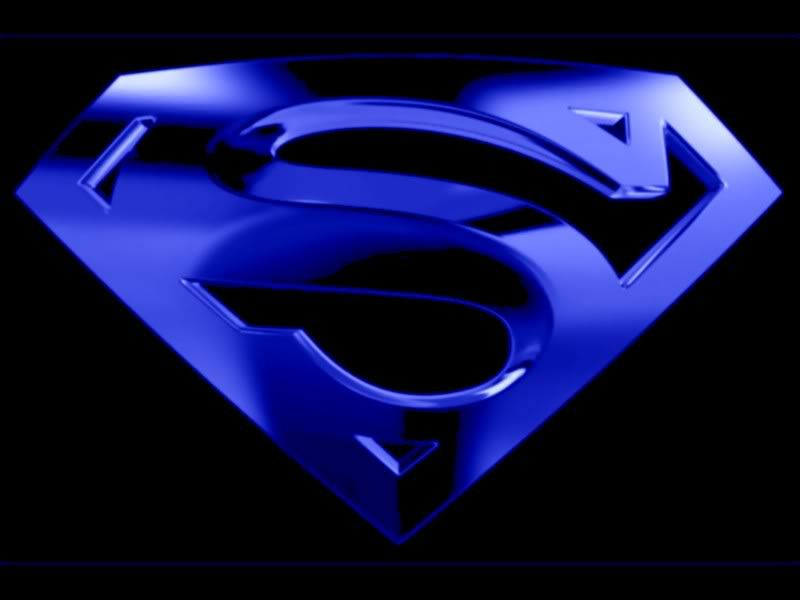 Black And Blue Blue Black Superman Symbol Graphics Code Blue