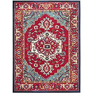 Amazon Com Safavieh Heritage Collection Hg911a Handmade Multi And