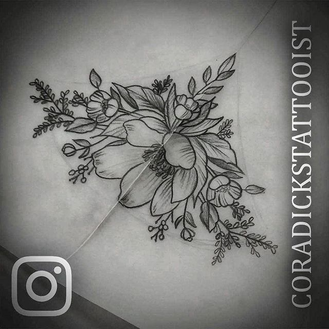 Sternum Floral Design Up For Grabs, Let Me Know If It