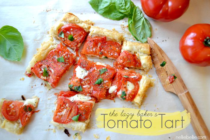 tomato tart recipe inspired by Downton Abbey