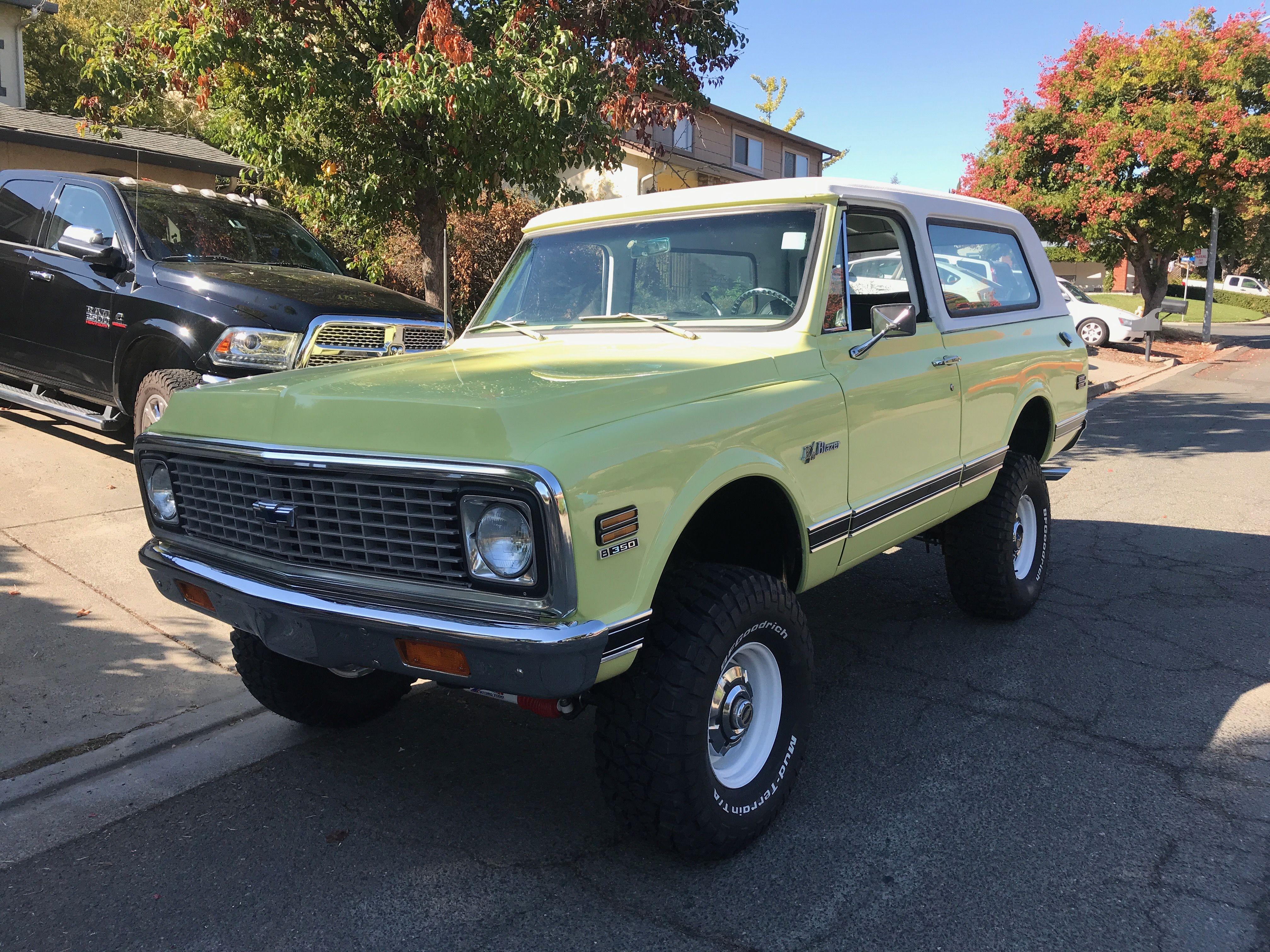 Freshly Restored 72 K5 Blazer Chevy Blazer K5 K5 Blazer Chevy