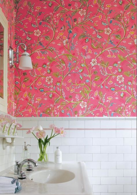 10 Tips for Rocking Bathroom Wallpaper in 2020 Bright