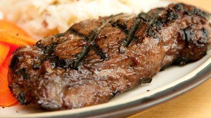 Grilled Beef Tenderloin Recipe طريقة عمل لحم تنديرلوين مشوي Beef Tenderloin Recipes Tenderloin Recipes Recipes