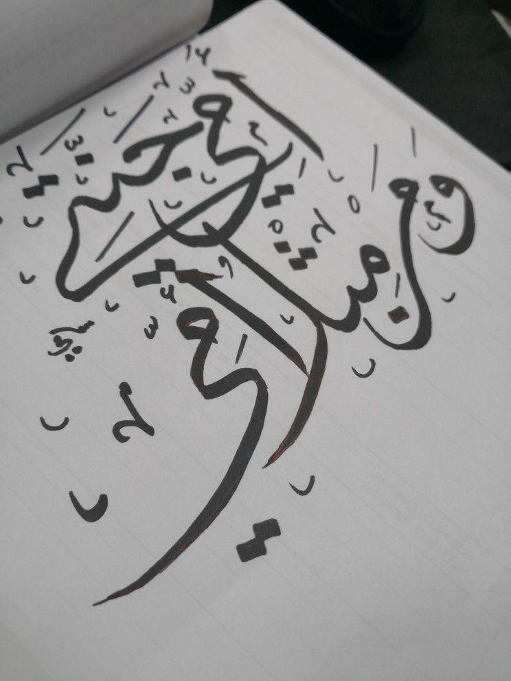 Pin By حاطب ليل On فنون الخط العربي Arabic Worksheets Art Design Arabic Love Quotes