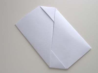 Faire Une Très Jolie Enveloppe Pour Un Message Une Demi Feuille A4