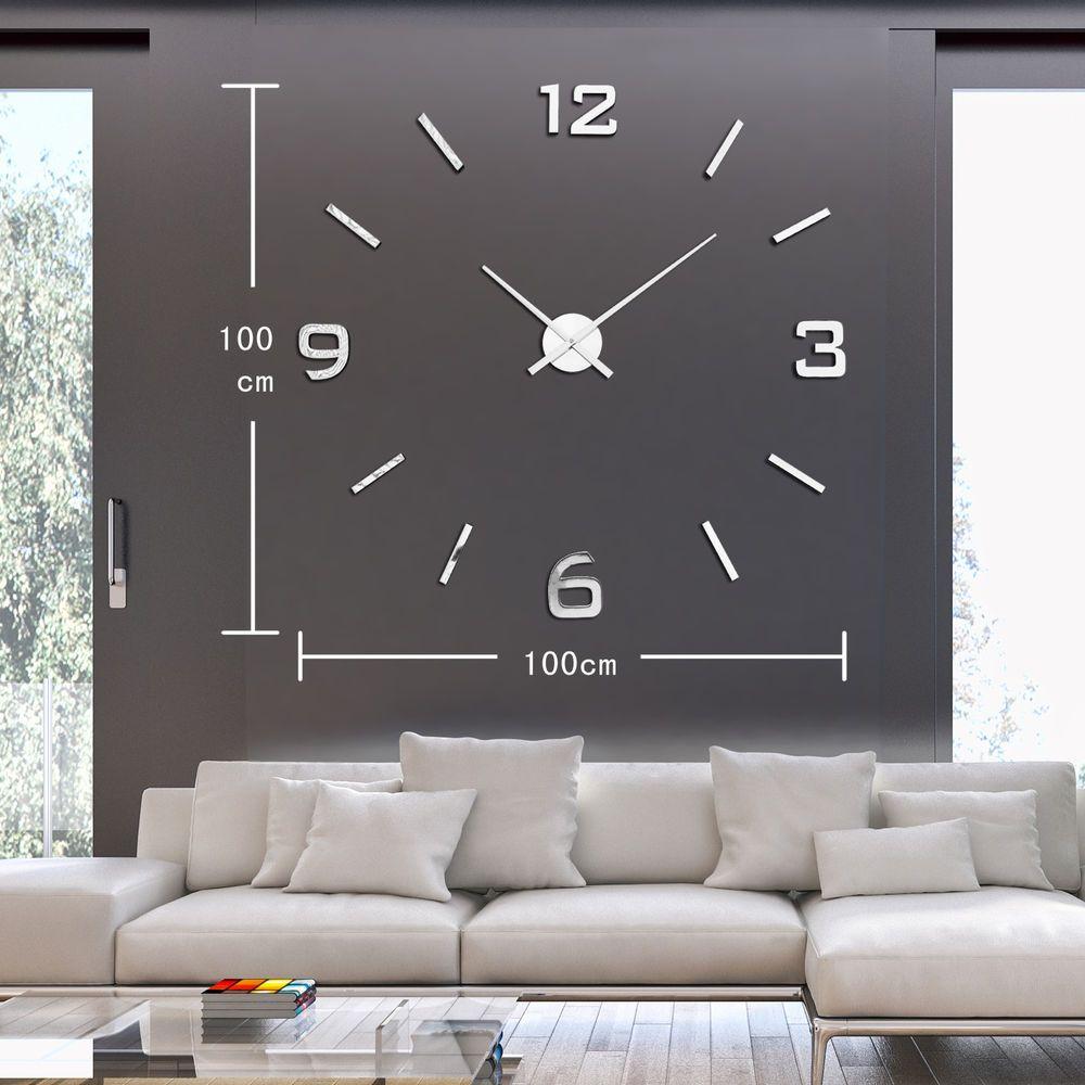 modern wall clock clocks horloges murales watch eva Wall