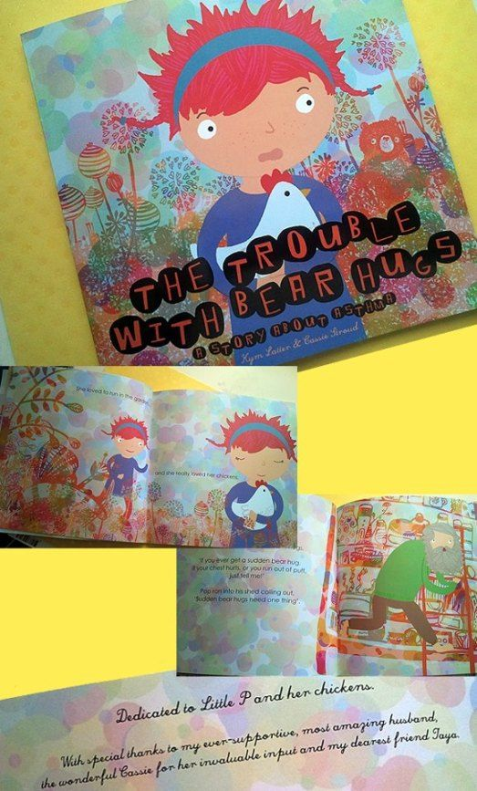 trouble with bear hugs book
