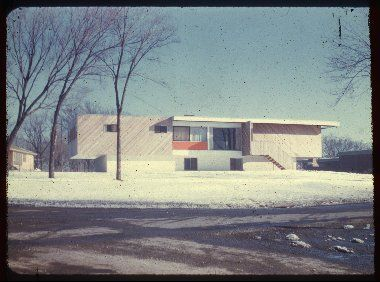 Snower House - images from the Marcel Breuer archive @ the Syracuse University Library