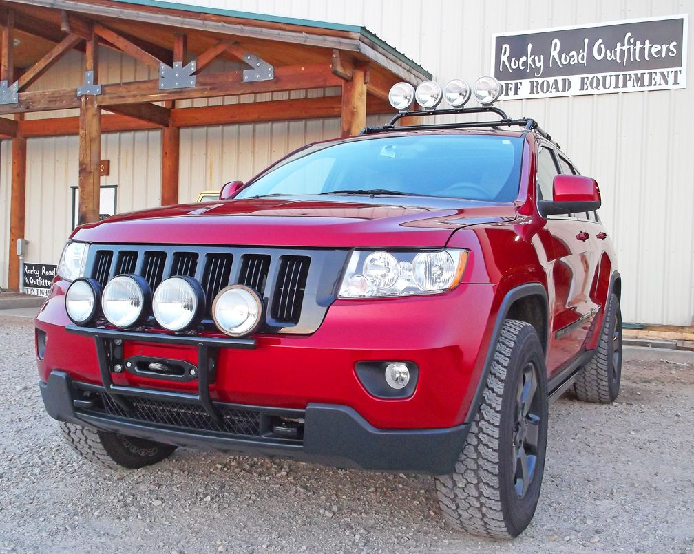 Rocky Road Outfitters Custom Hidden Winch Mount With Optional