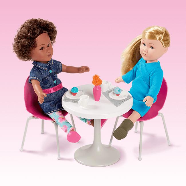Mini Dining Room Set Mini doll house, Doll play, Dolls