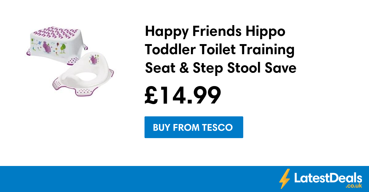Brilliant Happy Friends Hippo Toddler Toilet Training Seat Step Gmtry Best Dining Table And Chair Ideas Images Gmtryco
