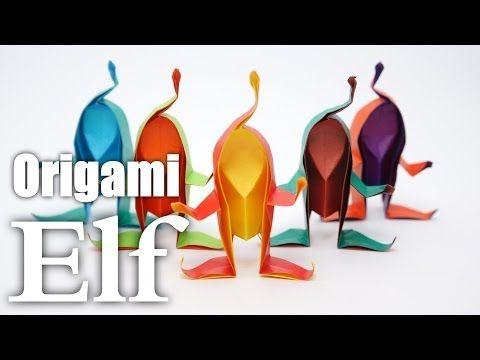 ▶ Origami Elf (Riki Saito) - YouTube