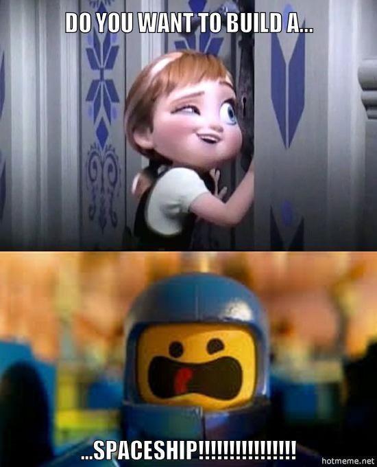 Lego Spaceship Disney Funny Disney Memes Funny Disney Jokes