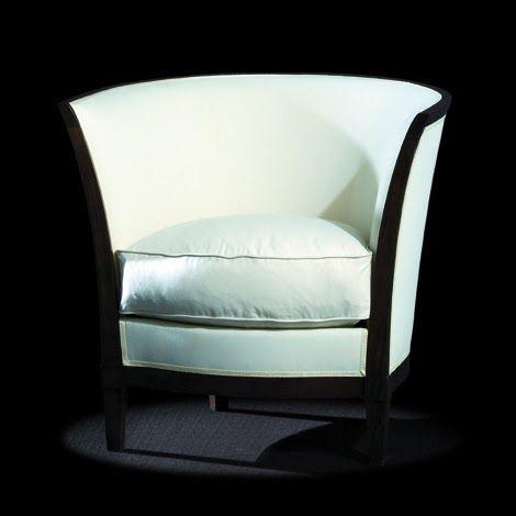 Reproduction furniture art deco bergere circa 1930 dimensions 70 h x 74 w x 59 d cm this for Reproduction meuble design