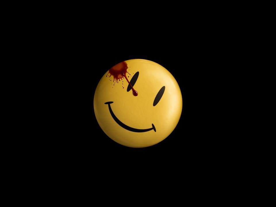 Watchmen Watchmen Smiley Face Watchmen Widescreen Wallpaper