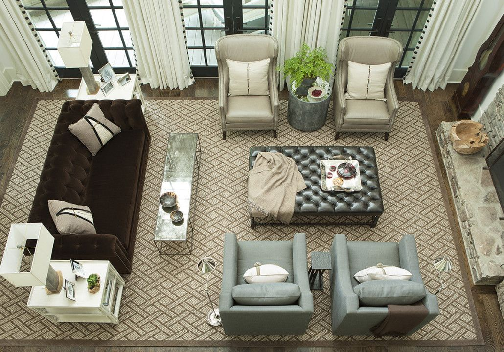 Schmales Wohnzimmer ~ Amy morris interiors refined mountain retreat living rooms to