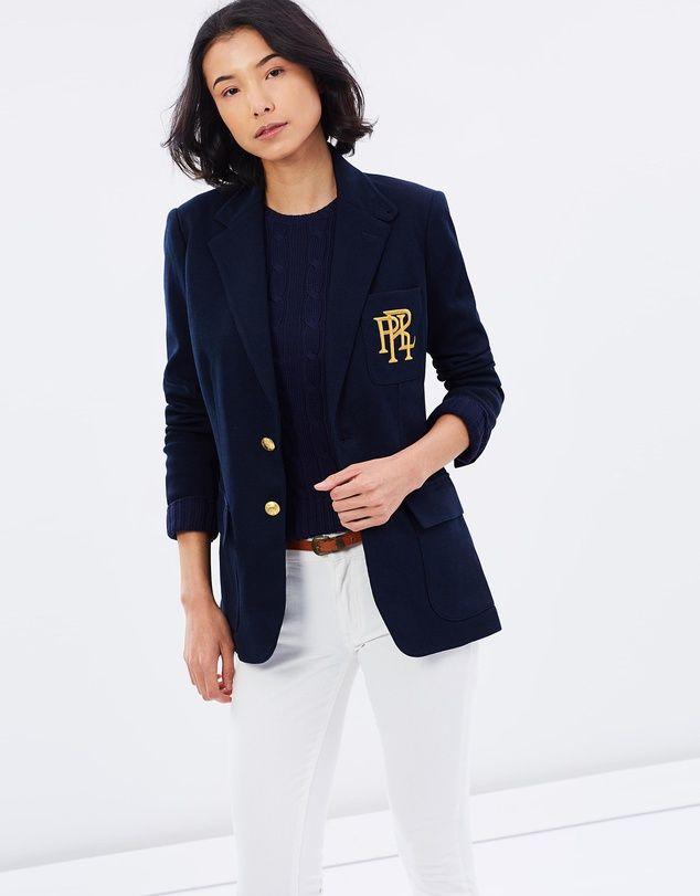Knit Cotton Blazer Cotton Blazer Blazer Polo Ralph Lauren
