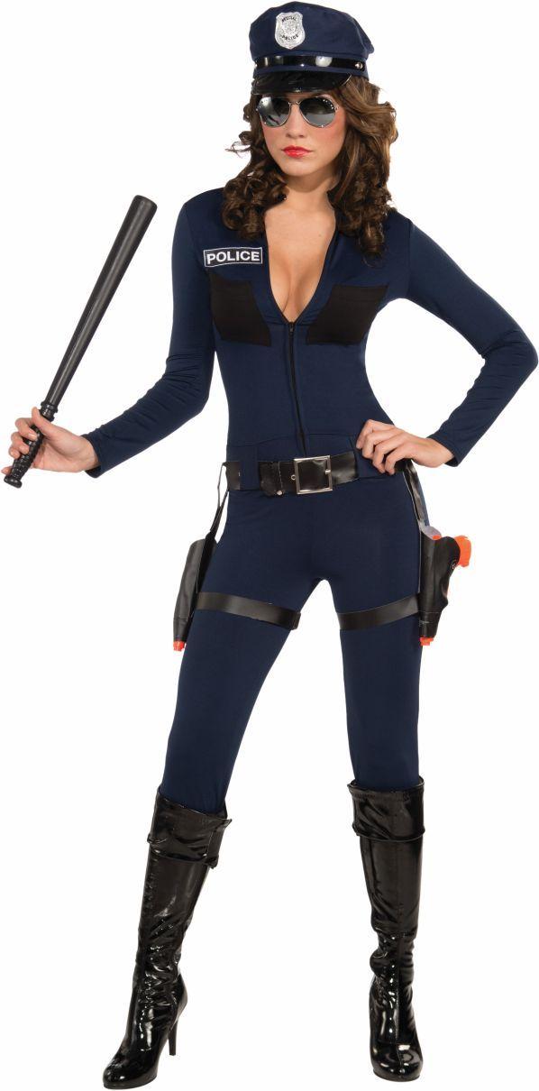 Traffic Stopping Cop Women Costume | Ideas para disfraces, Halloween ...