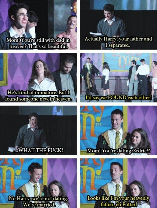 This could not have been played out more perfectly.  This whole scene was solid gold. AVPSY!!!!