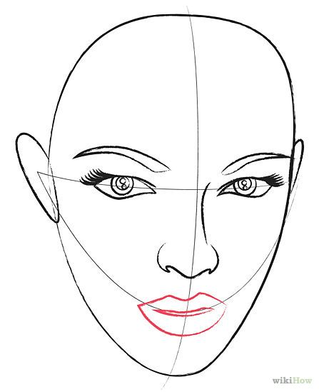 How To Draw A Human Head Lips Drawing Face Drawing Drawings
