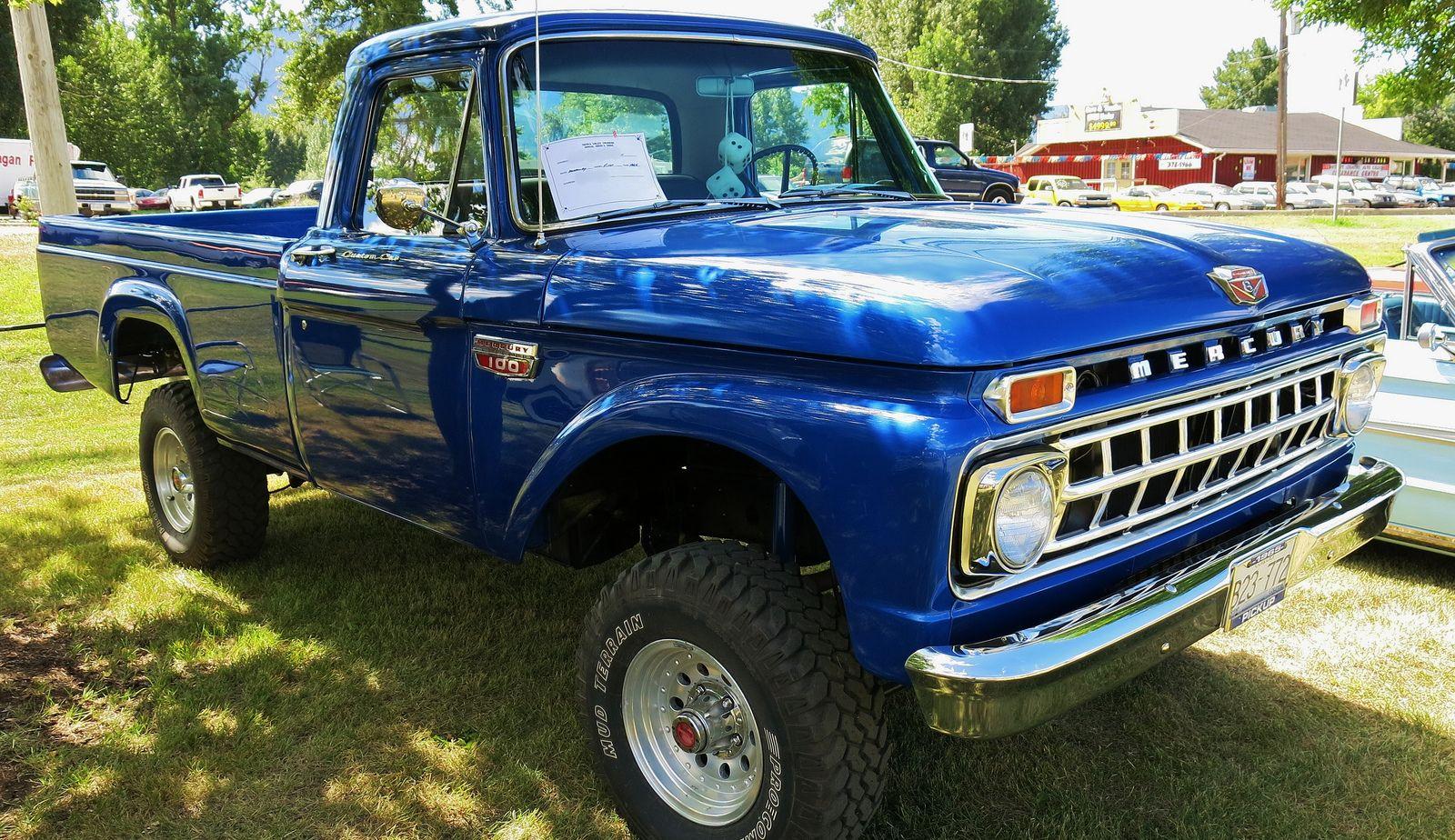 1965 Mercury M 100 Custom Cab 4x4 Pickup Truck Pickup Trucks