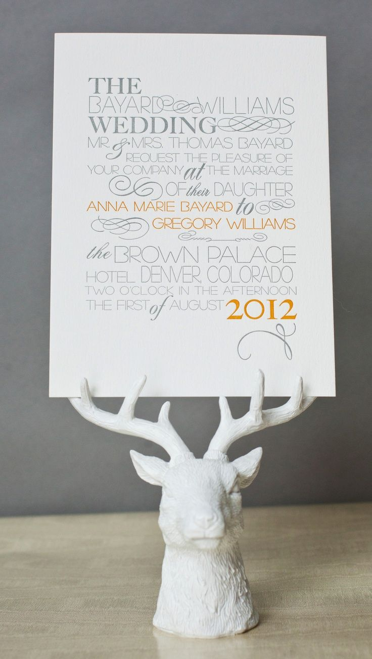 Modern Rustic Wedding Invitation with Fabulous Font and Holder ...