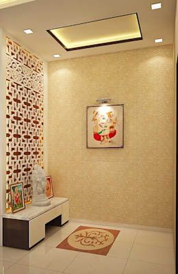10 Best Pooja room designs for harmony and energy Neutral tones