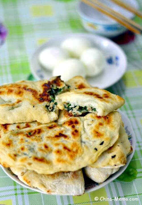 Chinese breakfast pork chive pancakes by pressure cooker recipe our home cooking for chinese pork chive pancake made by pressure cooker one of my favorite chinese breakfast food in china forumfinder Image collections