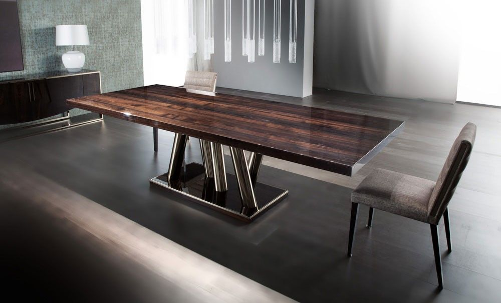Pietro Constantini Modern Luxury Italian Dining Table Transitional Dining Tables Dining Table Italian Dining Table