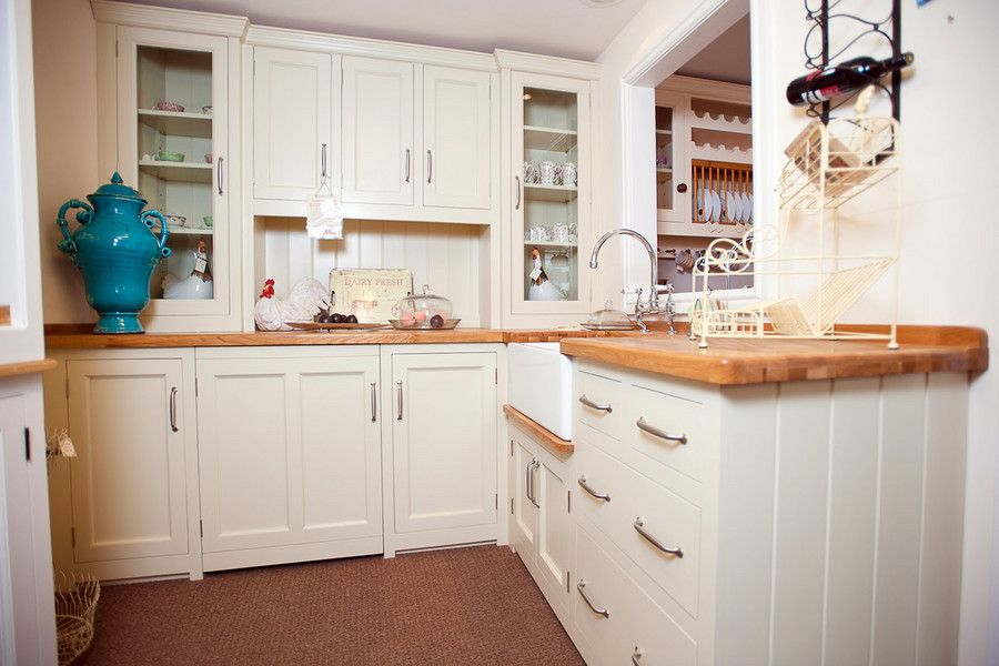 Charming Cottage Style Kitchens On Kitchen With