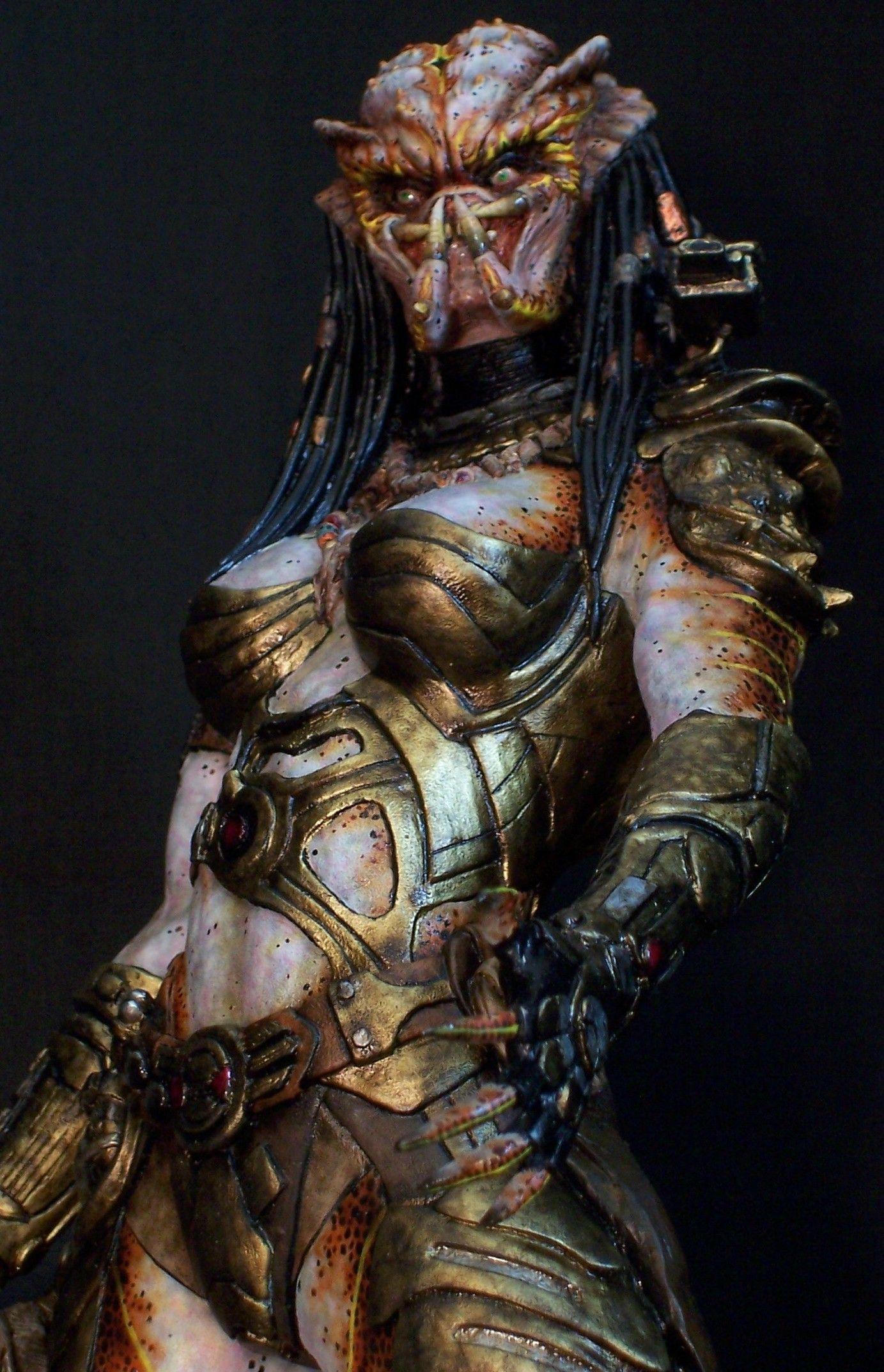 Female Predator Art Concepts   Predator Stuff Gallery   Creepy ...