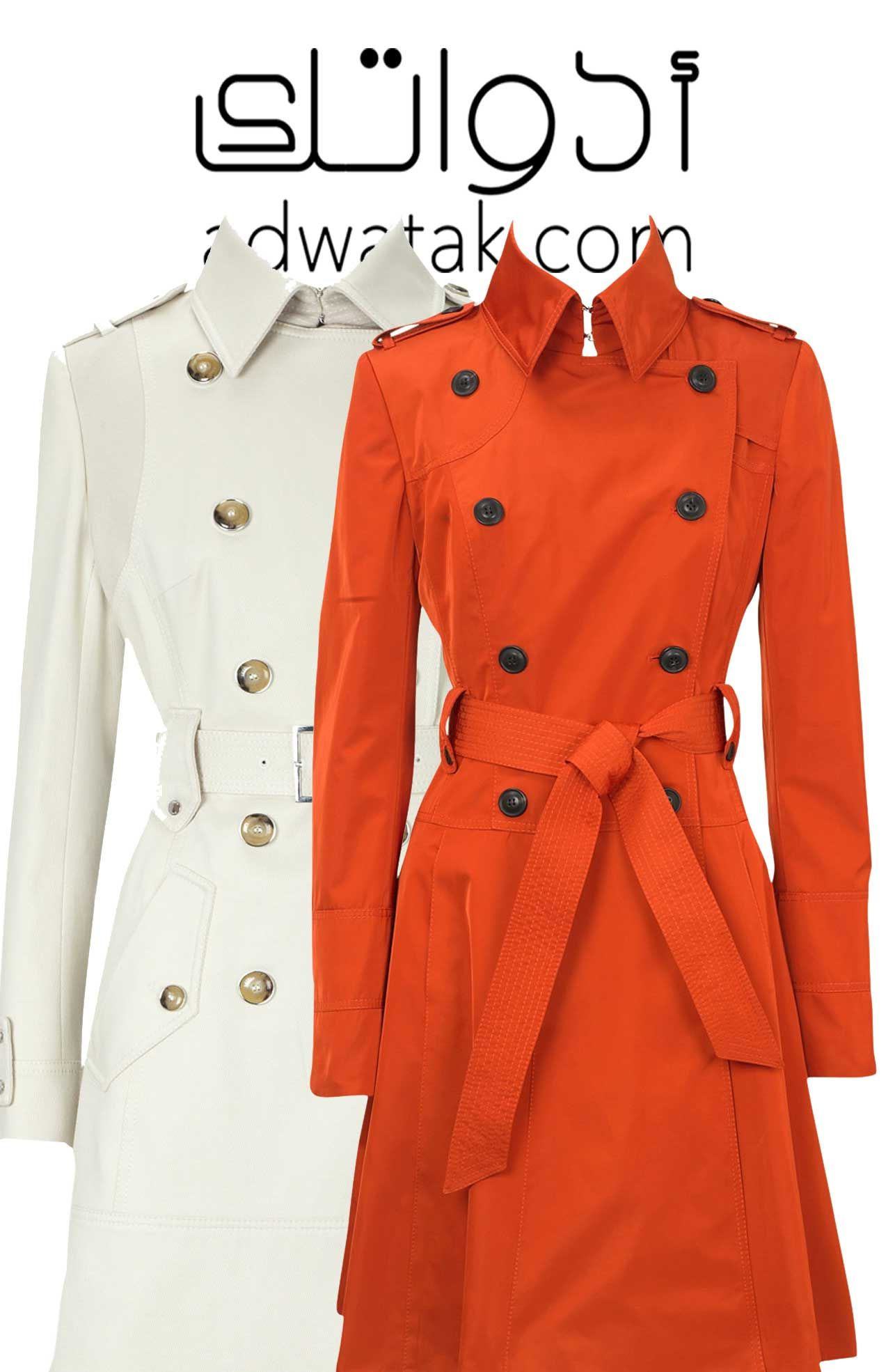 جواكت حريمي Trench Coat Coat Jackets
