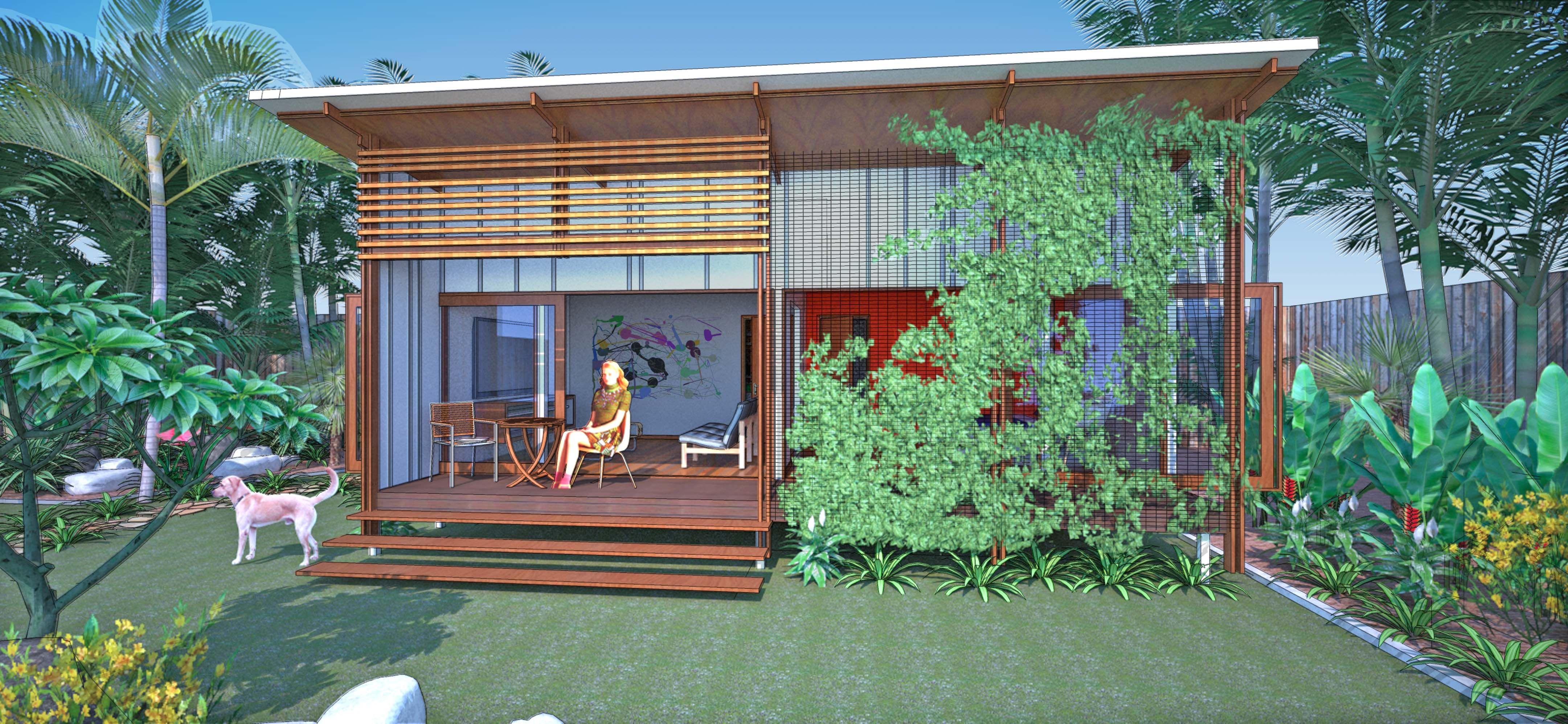 Coopworth 35sqm backyard retreat   Small house, Backyard ...
