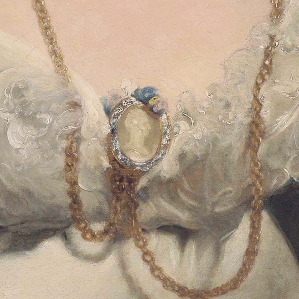Portrait Of Charlotte Sophia countess Ofi Surrey1815-25 ~ Sir Thomas Lawrence ~ (British : 1769-1830)