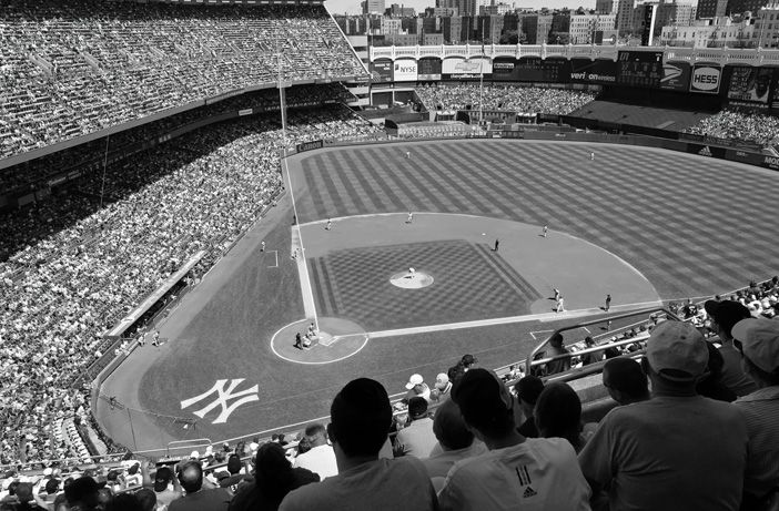 Yankee Stadium Black And White Wall Mural Sizes Pricing Here Http