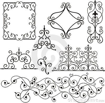 Wrought Iron Ornaments Quilling Patterns Wrought Iron Decor Iron Decor