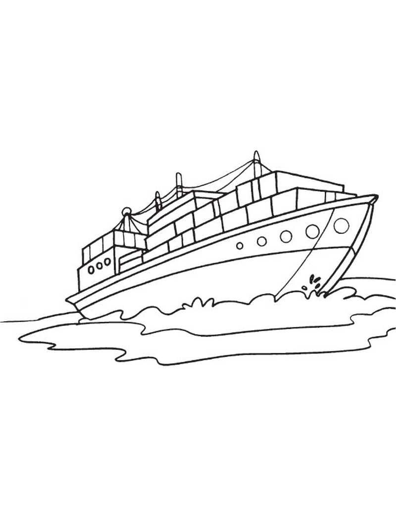 Printable Boat Coloring Pages Coloring Pages Coloring Pages
