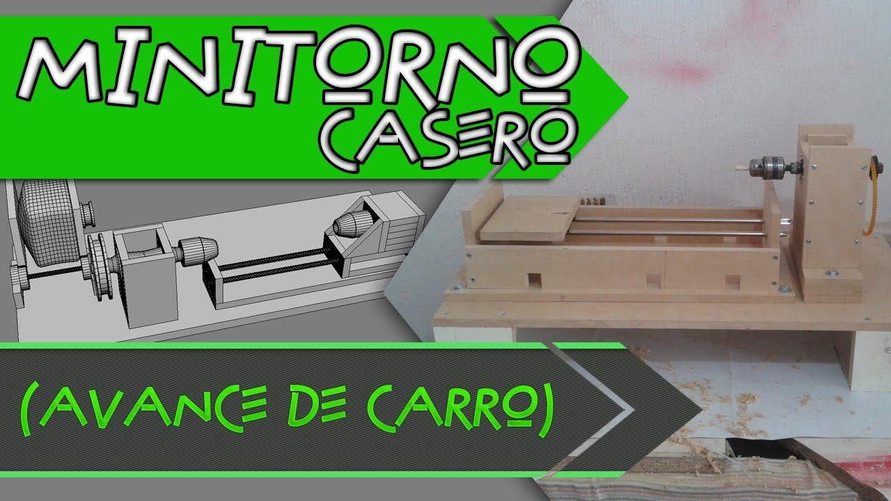 Mini torno casero construccion de carro y bancada for Construccion de viveros caseros