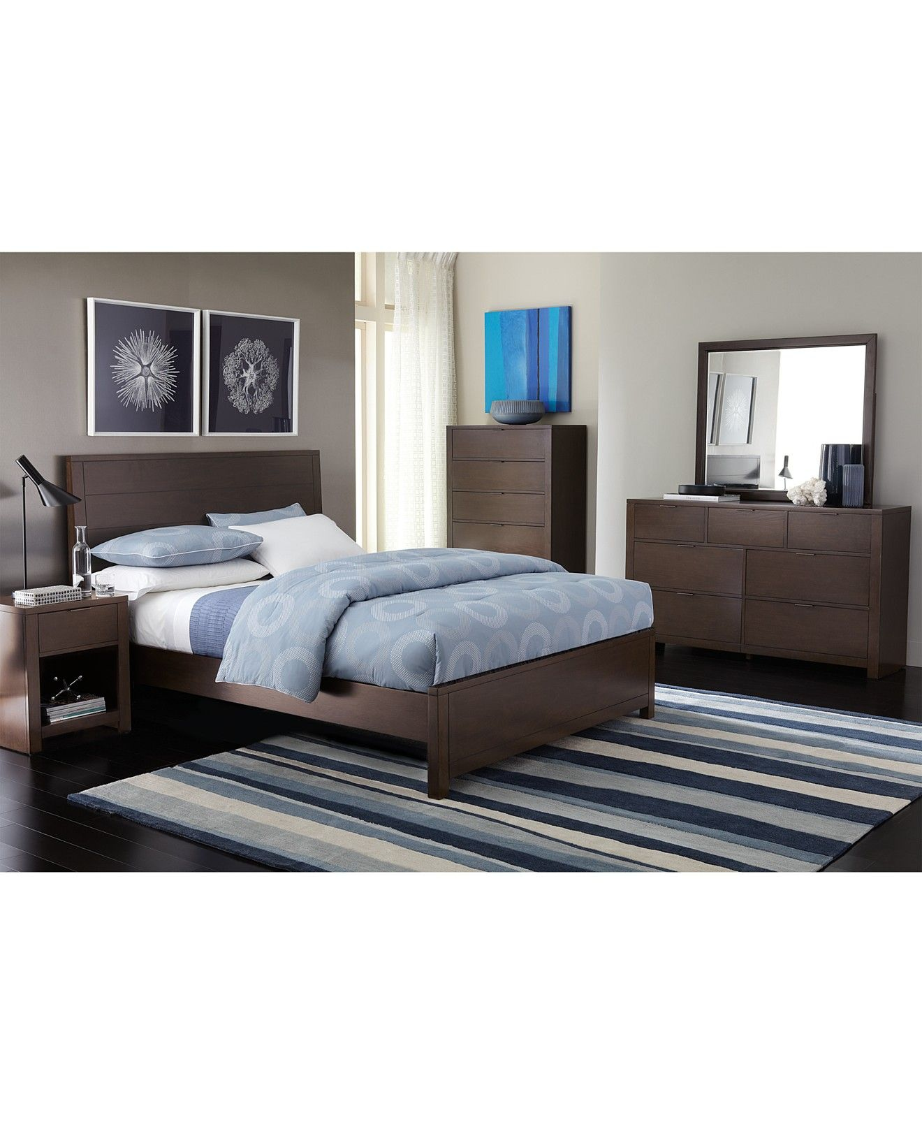 Tribeca Full-Size Bed, Created for Macy\'s | Furniture collection ...